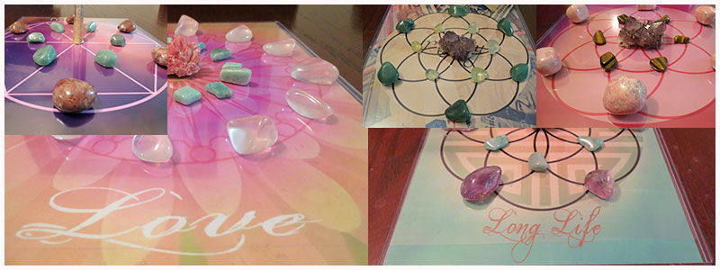 Crystal Grids ready for you to use