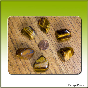 Tiger Eye Tumbled Extra Large-0