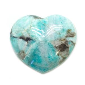 Amazonite Heart-0