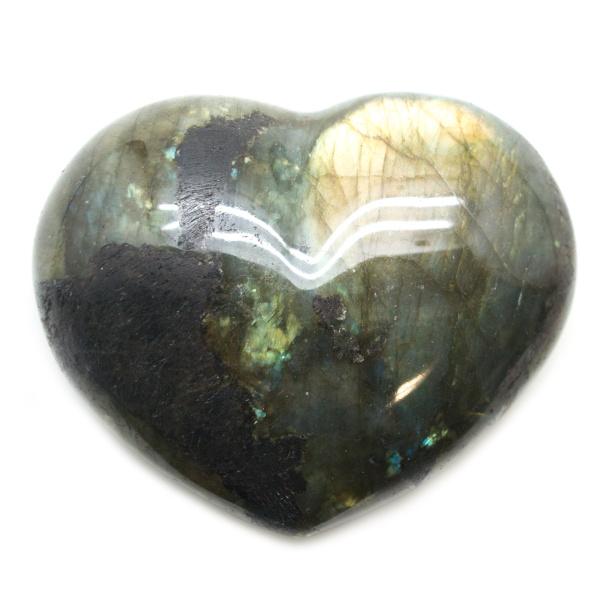 Labradorite Heart-0