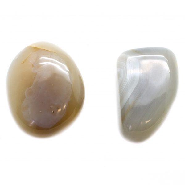 Pair Agate Aura Stone - medium-0