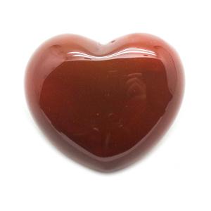 Carnelian Heart Medium-0