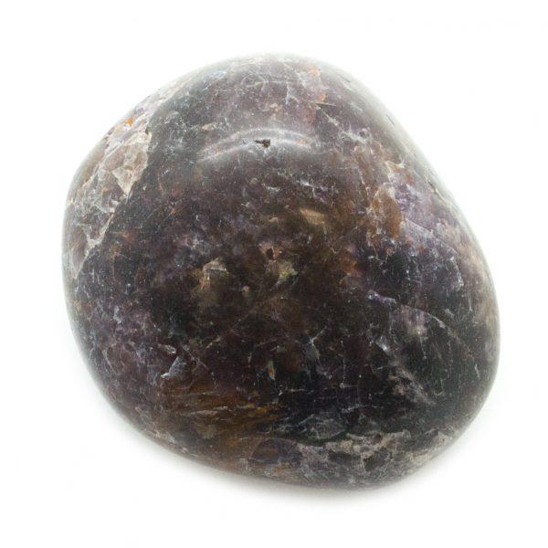Cacoxenite in Amethyst Aura Stone Pair-67668