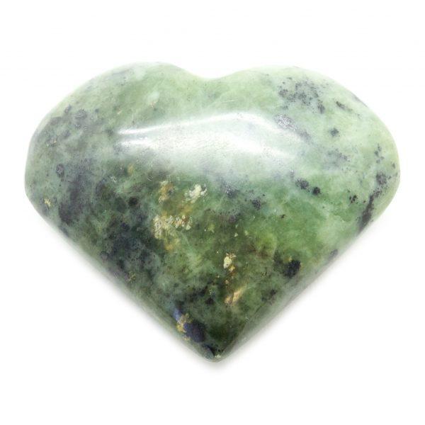 Nephrite Jade Heart-67689