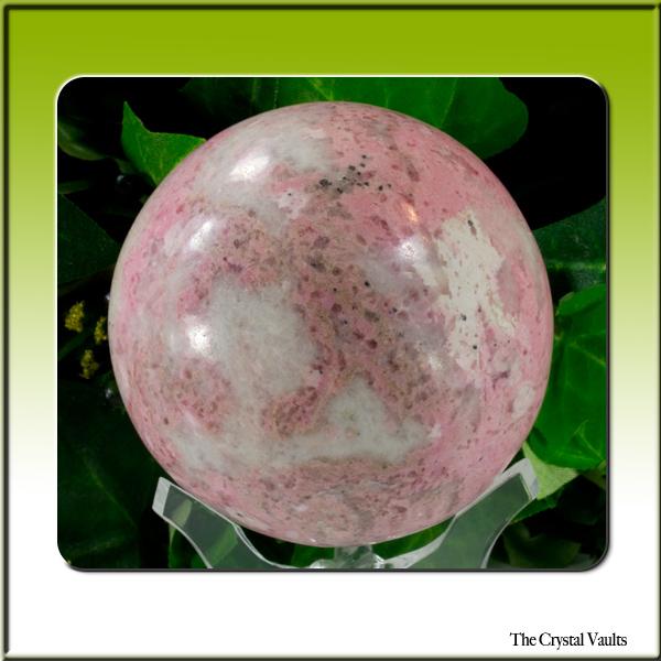 Rhodochrosite Sphere-0