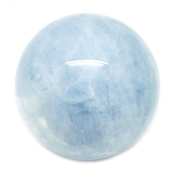 Blue Calcite Sphere(60-70mm)-68371