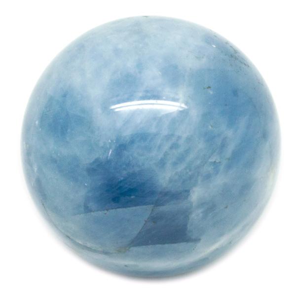 Blue Calcite Sphere(60-70mm)-0