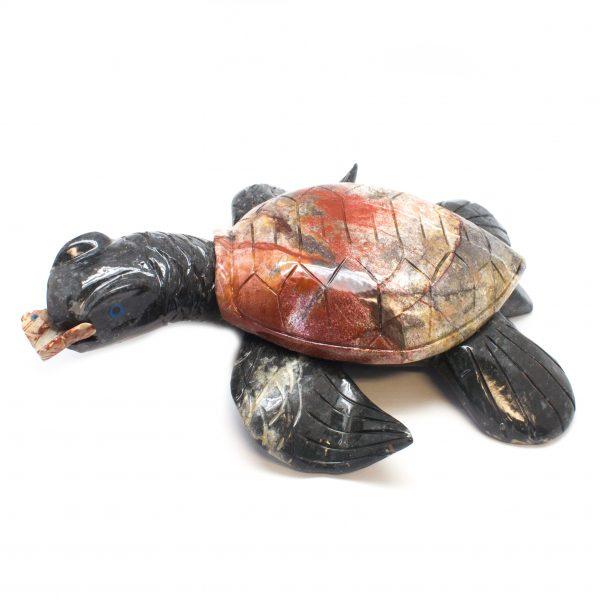 Holiday Bazaar - Large Soapstone Turtle-0