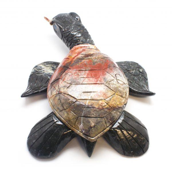 Holiday Bazaar - Large Soapstone Turtle-106896