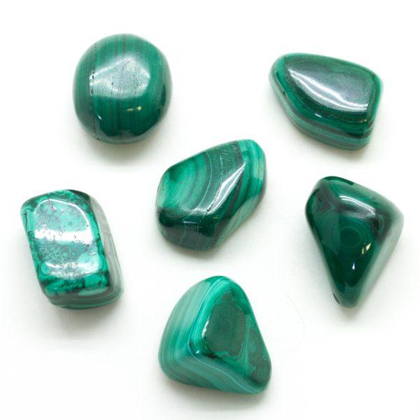 Malachite Tumbled Set(Large)-77882