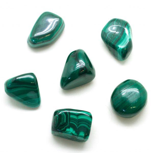 Malachite Tumbled Set(Large)-77881