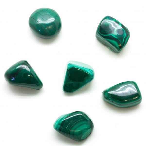 Malachite Tumbled Set(Large)-0