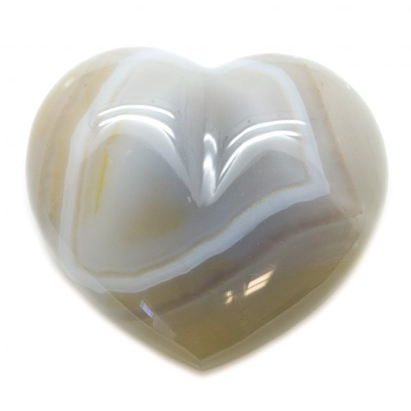 Natural Agate Heart-67032