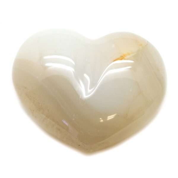 Natural Agate Heart-67033
