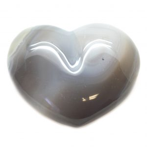Natural Agate Heart-0