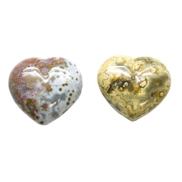 Sea Jasper Heart-67053