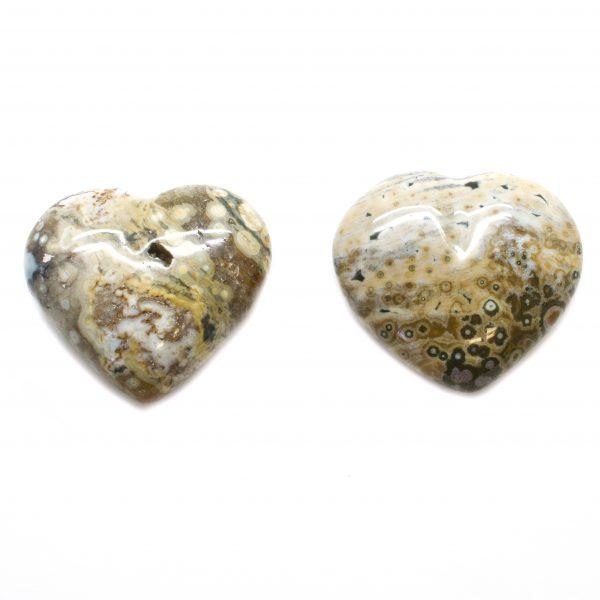Sea Jasper Heart-0