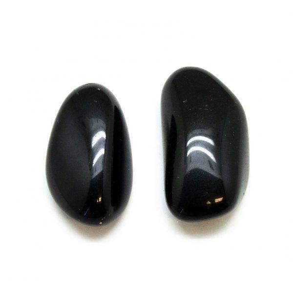 Obsidian Aura Stone Pair (Small)-183505