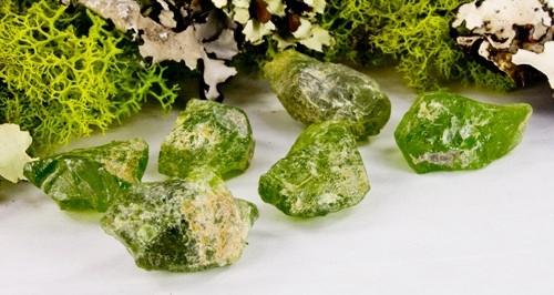 Peridot Tumbled Stones (Small)-206919