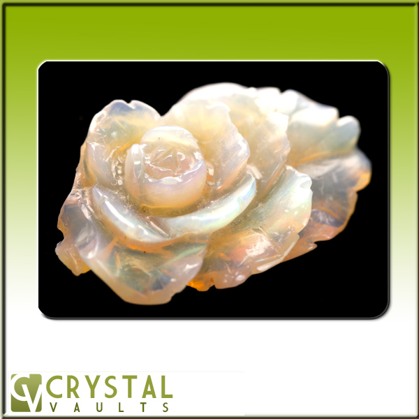 Medium Opal Flower-0