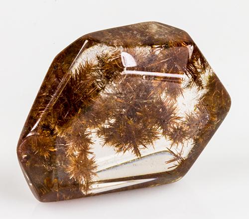 Copper Colored Rutilated Quartz Cabochon-18049