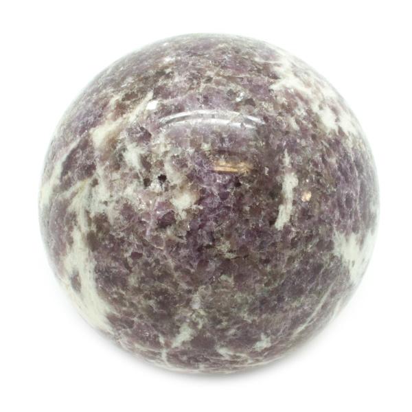 Lepidolite Sphere-0