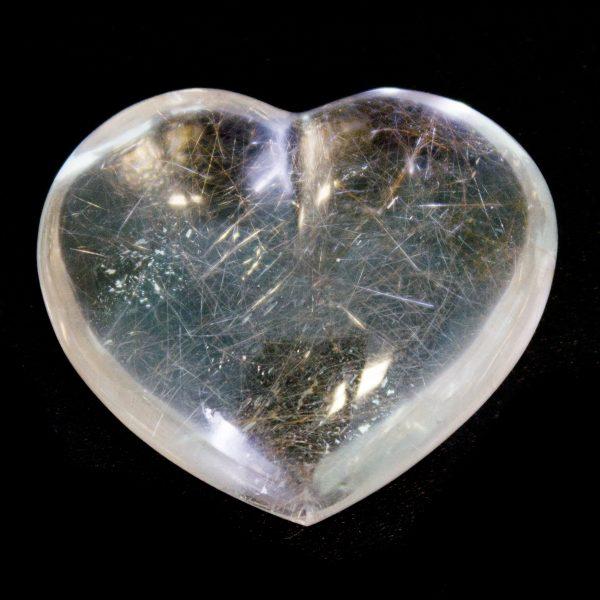Crystal Quartz Heart -67635