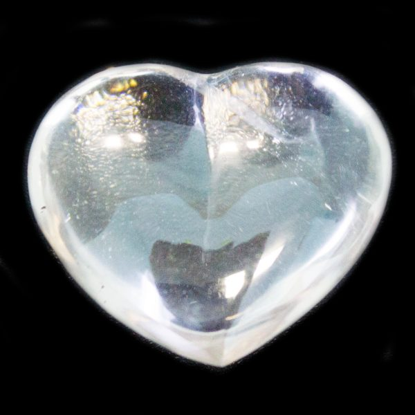 Crystal Quartz Heart -0
