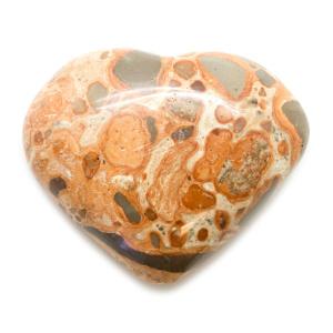 Leopard Skin Heart-0