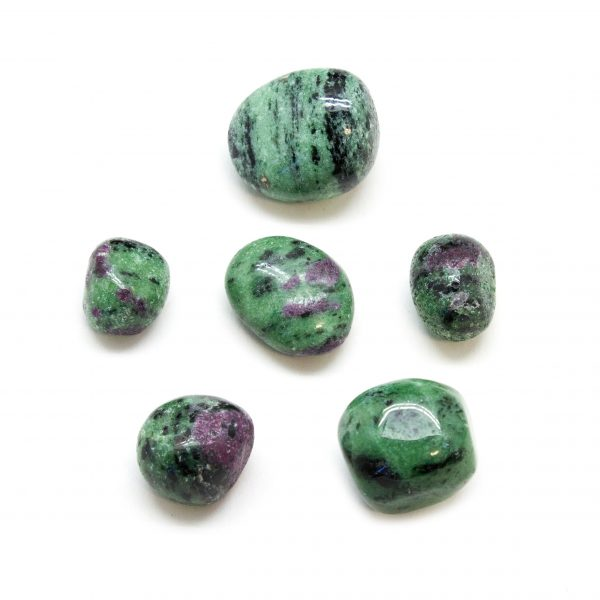 Ruby and Fuchsite Tumbled (M)-0