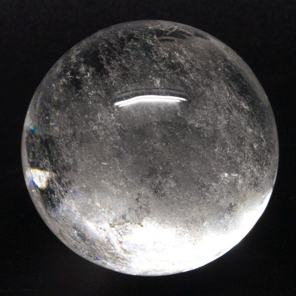 Clear Quartz Sphere (Md.)-75048