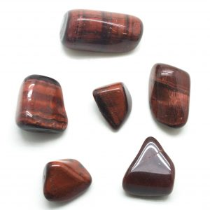 Red Tiger Eye Medium Tumbled Stones-0