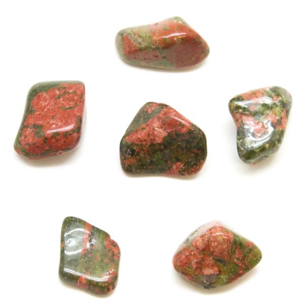 Unakite Tumbled Stone Set (Medium)-84938