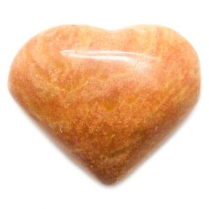 Red Jasper Heart-0
