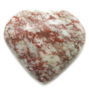 Red Banded Jasper Heart-0