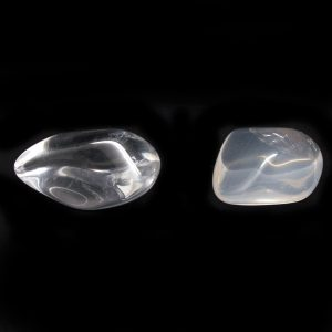 Clear Quartz Aura Stone Pair-0
