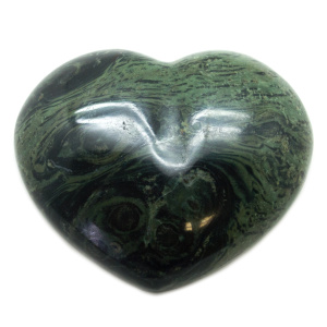 Crocodile Jasper Heart-0