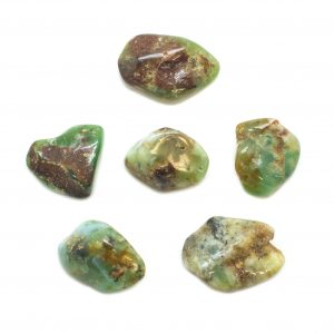 Mercury Aligned Chrysoprase (set of six)-0