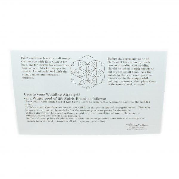 Wedding Altar Grid Card-192544