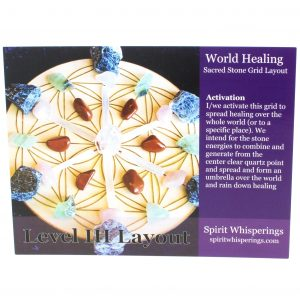 World Healing Grid Card-0