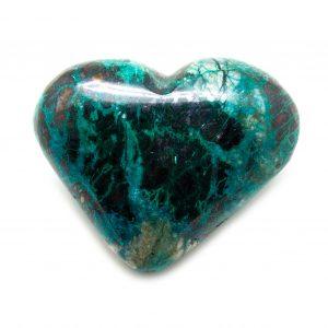 Chrysocolla Heart-0
