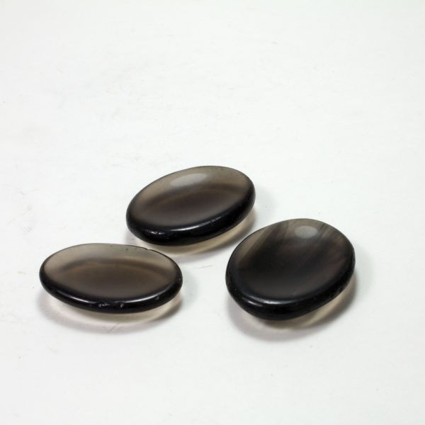 Obsidian Worry Stone-39626