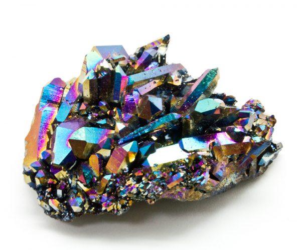 Titanium Quartz Cluster-0