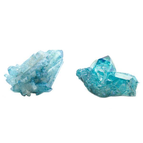 Aqua Aura Crystal Pair-0