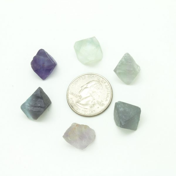 Fluorite Cube Tumbled Set(XSmall)-45637