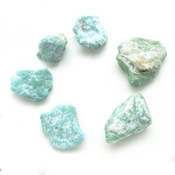 Small Kingman Turquoise Tumbled Stone-46612