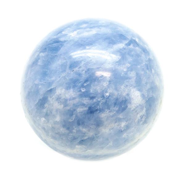 Blue Calcite Sphere(40-50mm)-0