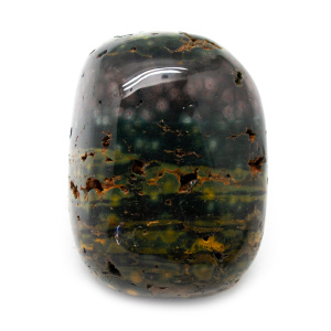 Sea Jasper Aura Stone (Medium)-0