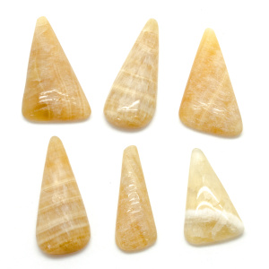 Honey Calcite Cabochon Set-0