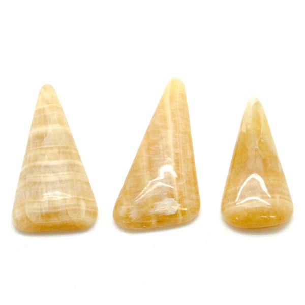 Honey Calcite Cabochon Set-75575